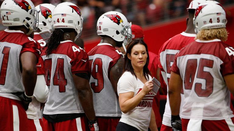 jen walter nfl female coach